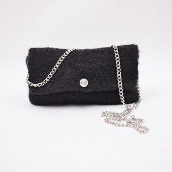 Hobbii Ribbon väska från Hobbii | Virkade väskor, Clutches