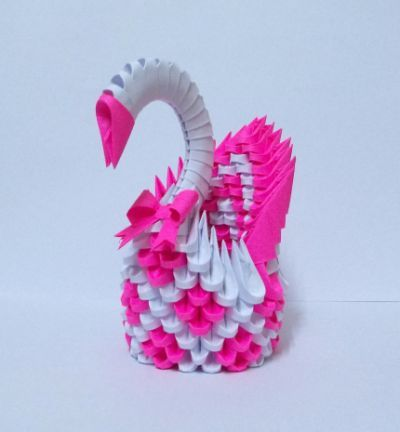 Origami Swan Stop Motion Animation - step by step building a 3d ... | 432x400