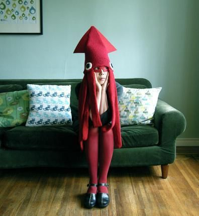 Squid Purim Costume