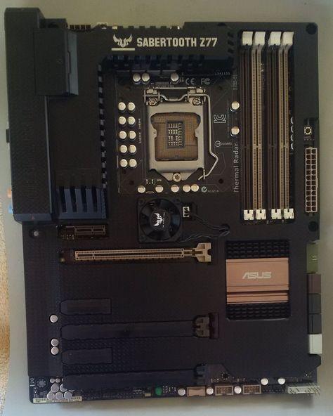 ASUS SABERTOOTH Z77 Socket LGA 1155 Motherboard Win 7 Ultimate & Win 10 Pro Keys #ASUS