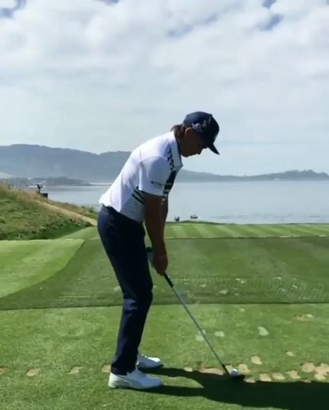 A Perfect 🏌 ⛳️ Shot in Slow Motion.