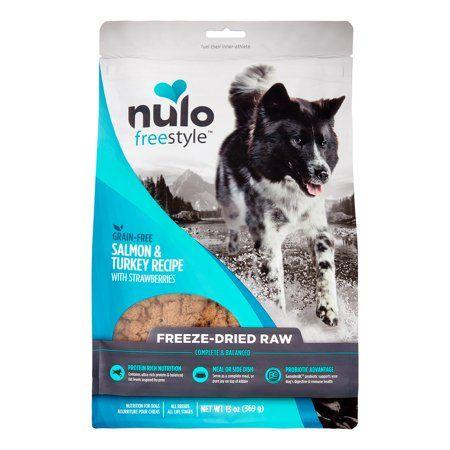 Nulo Freestyle Grain Free Freeze Dried Salmon Dog Food 13 Oz