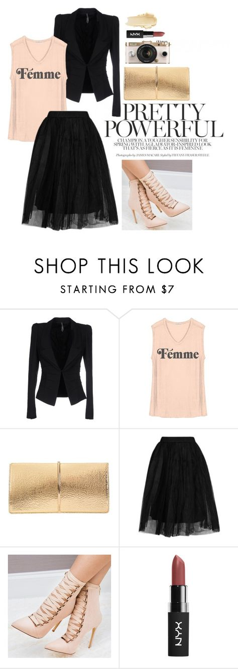 """""""Untitled #295"""" by shannie-chic ❤ liked on Polyvore featuring Liviana Conti, Junk Food Clothing, Nina Ricci, Topshop and Urban Outfitters"""