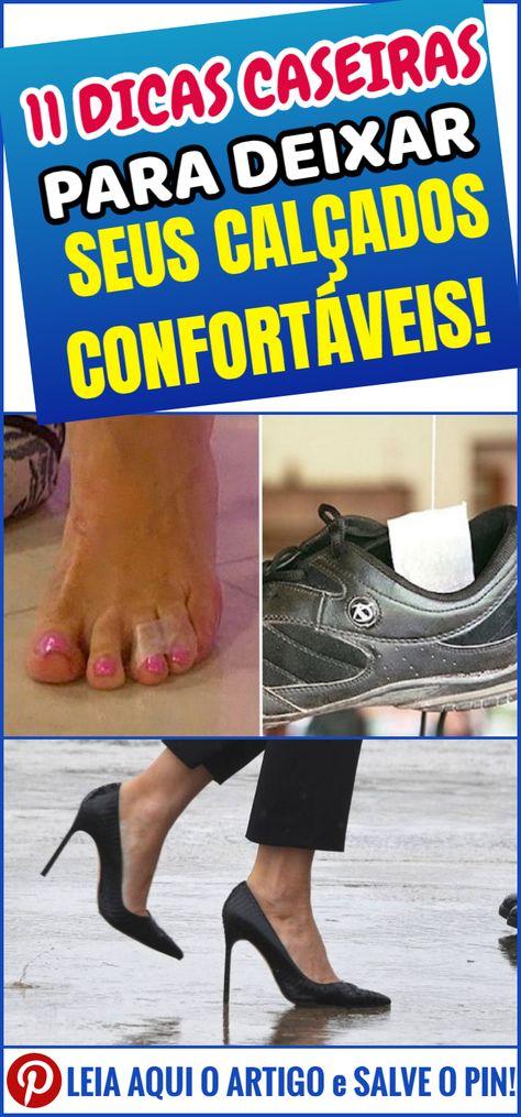 Ótimas dicas para deixar seus calçados confortáveis | Dicas