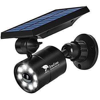 Solar Lights Outdoor Motion Sensor 1400 Lumens Bright Led Spotlight 5w 110w Equiv Drawg Solar Powered Security Light Outdoor Solar Lights Solar Security Light