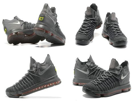 c4d8e01c4787 New Nike Cheap KD 9 Elite Dark Grey Time to Shine Newest Kevin Durant Shoes