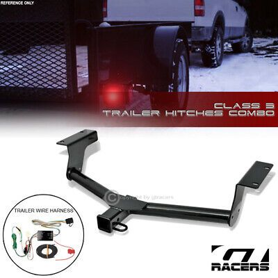 Sponsored Ebay For 2013 2018 Toyota Rav4 Class 3 Black Trailer Hitch Receiver 2 Wire Connector Trailer Hitch Receiver Trailer Hitch Toyota Rav4