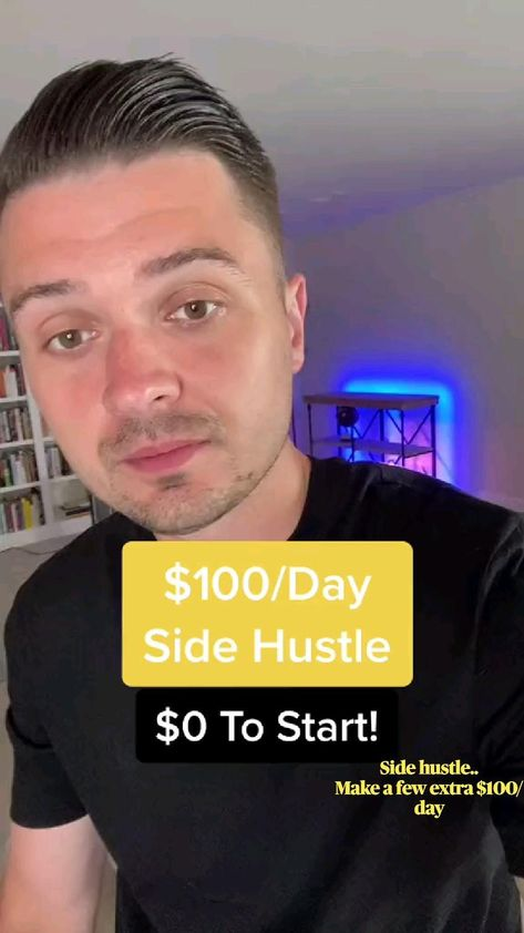 Side hustle.. Make a few extra $100/day