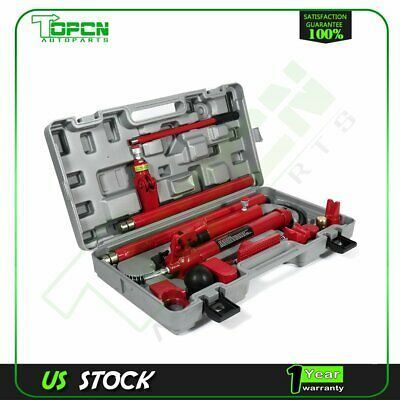 Ad Ebay Link Power Hydraulic Jack 10 Ton Porta Body Frame Repair Kits Auto Car Tools Lift Ram Car Tools Kit Cars Repair