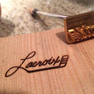 Custom Branding Iron Wood Brand Iron Custom Leather Stamp Custom Metal Stamp Heat Emboss Stamp Custom Brand Iron For Wood Meat Food In 2020 Custom Branding Iron Leather Stamps Custom Branding
