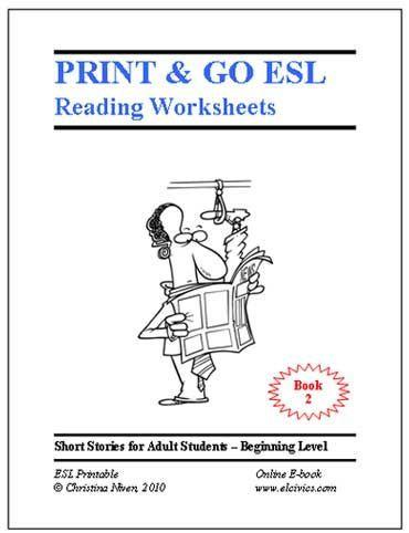 Free Esl Ebooks Printable Worksheets Esl Reading Esl Reading Activities Esl Teaching Adults