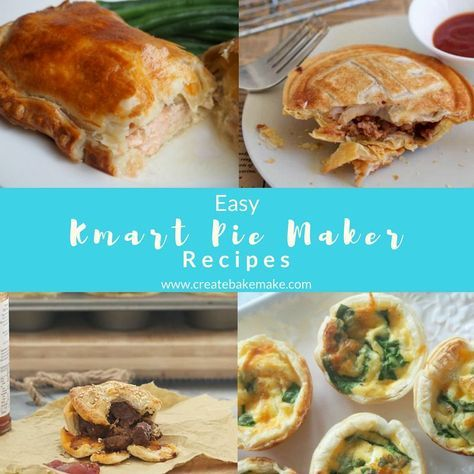 Kmart Pie Maker Recipes Create Bake Make Recipes Pies Maker Meat Pie