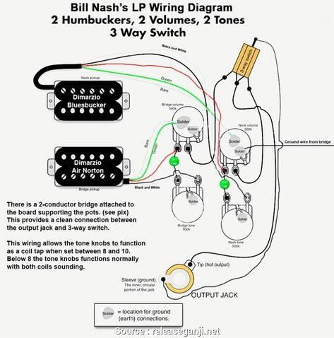 Epiphone Les Paul Wiring Diagram (Dengan gambar