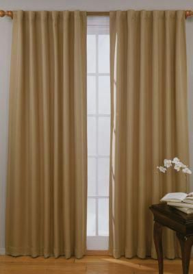Eclipse Wheat Fresno Blackout Window Curtain Panel Online Only