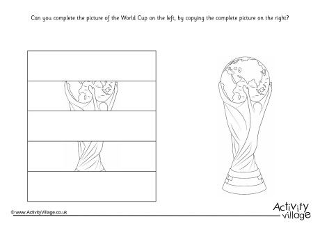 Complete The World Cup Puzzle