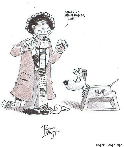 Wallace & Gromit/Doctor Who mashup by Roger Langridge