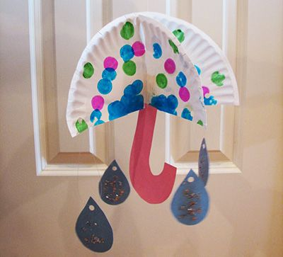 Spring Umbrella Craft