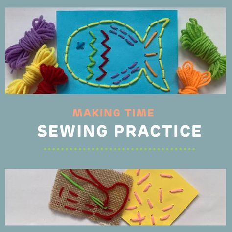 This tutorial will help you practice some simple hand sewing techniques.