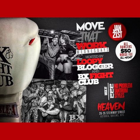 Move That Work Wednesdays @ Heaven Wednesday January 21, 2015 « Bomb Parties – Club Events and Parties – NYC Nightlife Promotions