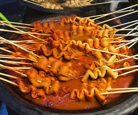 Korean Street Food in Seoul - MissAbroad - - Korean Street Food in Seoul Most people know about kimchi and Korean barbeque, but the food offerings in South Korea are incredibly diverse, and go far beyond these standard dishes. In Seoul. Mumbai Street Food, Korean Street Food, Asian Recipes, Mexican Food Recipes, Vegetarian Recipes, South Korean Food, Seoul, Masterchef, Fast Food
