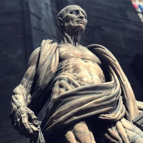 Prometheus Engineer Or San Bartolomé Escultura