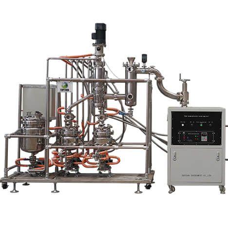Mds 10c Short Path Molecular Distillation Equipment Distillation