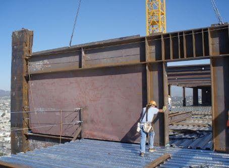 Steel Shear Wall Wall Design Construction Cost Building Materials