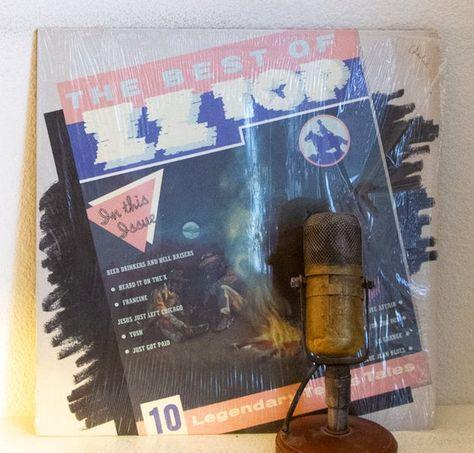 Zz Top Vinyl The Best Of 1970s Texas Blues Rock 1979 Scarce Columbia House Record Club W Tush Blues Rock Vinyl Handmade