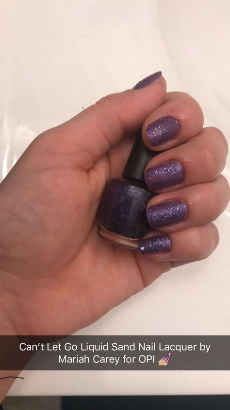glitter My nails! #CantLetGo...