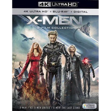 X Men Trilogy 4k Ultra Hd Walmart Com X Men Best Superhero Movies Man Movies