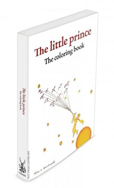 The Little Prince Coloring Portfolio Hardcover