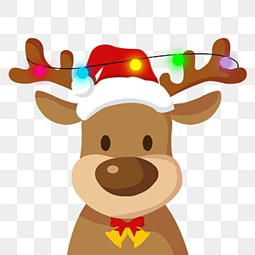 Cute Christmas Reindeer Festival Vector Material Reindeer Clipart Cute Christmas Png Transparent Clipart Image And Psd File For Free Download Christmas Reindeer Holiday Clipart Christmas Theme Background