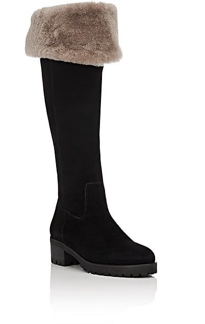 515d4431d6c Barneys New York Shearling-Lined Over-The-Knee Boots - Boots - 505383155