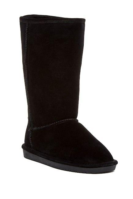 Emma Tall Genuine Sheepskin Lined Boot