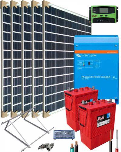 Kit Solar Trifasico 15000w 48v 57600whdia Al Mejor Precio Kit Solar Kit Energia Solar
