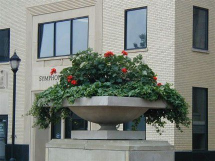Frank Lloyd Wright Robie House Planters Decorative