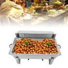 9 L Chafing Dish Pan Tray Set Stainless Steel Party Cater Food Warmer Fuel NEW Sale Offer £265.00 #stainlesssteel #chafingdish #partydish