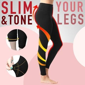 ❣️Shape and Tone Your Legs While Sleeping! 🔄The New Fabrics Stops any Leg Swellings by promoting effective Blood and Lymphatic Circulation! ✅Ideal for Ladies Standing or Sitting for Long Hours!