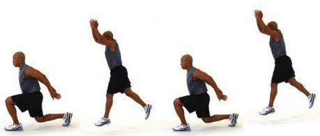 Image result for Power Lunges