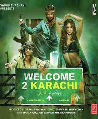 Welcome 2 Karachi 2015 Brrip Pakistani Movies Mobile Mp4 3gp Welcome To Karachi Indian Movie Songs Bollywood Music