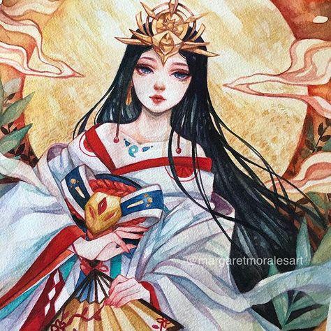 Margaret Morales Tren Instagram My Version Of The Sun Goddess