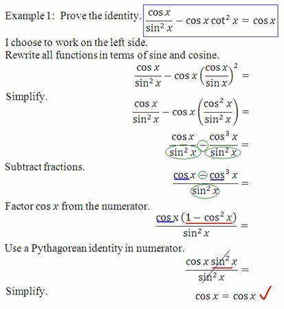 Verify Trig Identities Worksheet New Worksheet Verifying Trigonometric Identities Workshee Chemistry Worksheets Teaching Methods Subtracting Integers Worksheet