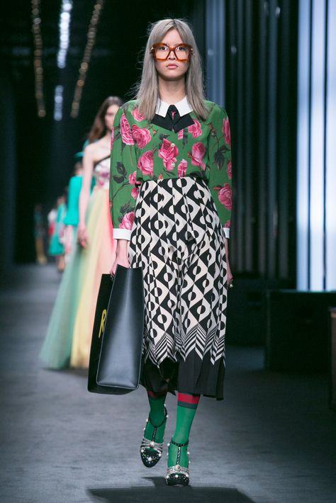 Alessandro Michele shows his fall designs.