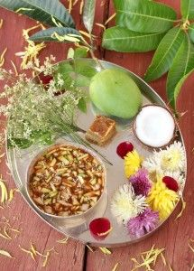 Ugadi pachadi recipe andhra food andhra spicy food pinterest ugadi greetings to all my dear readers ugadi pachadi prepared for our telugu new year i hope all of you enjoy ugadi festival with good food and cheer forumfinder Images