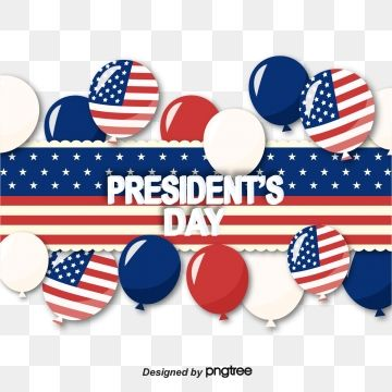 Presidential Day Decorates American Flag Festival Balloons National Flag Celebrating Coloured Ribbon Png And Vector With Transparent Background For Free Down Free Graphic Design National Flag Graphic Design Background Templates