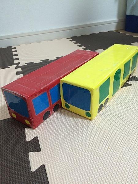 牛乳パックの電車の作り方 手作りおもちゃ 保育園 手作りおもちゃ 赤ちゃん 手作り プレゼント