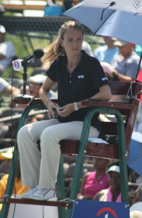 Sitting Down With Chair Umpire Eva Asderaki Ana Ivanovic Caroline Wozniacki Serena Williams