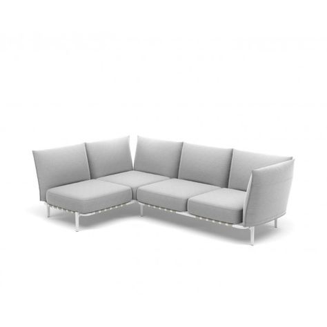 Dedon Brea L Sofa Loungemodul Rechts 266 173 Cm Sofas Sofa Gartenmobel
