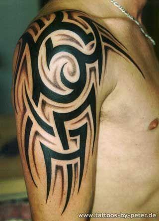 Bildergebnis Fur Tattoos Rucken Schulter Mann Tribal Tattoos Tribal Shoulder Tattoos Tribal Arm Tattoos