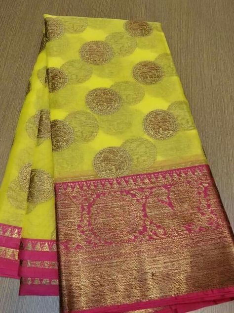 d9e165e3c2 🌹organza sarees 🌹contrast designer blouse 🌹 Order what's app 7995736811